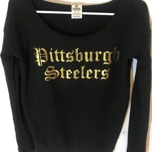 Steelers PINK sweatshirt